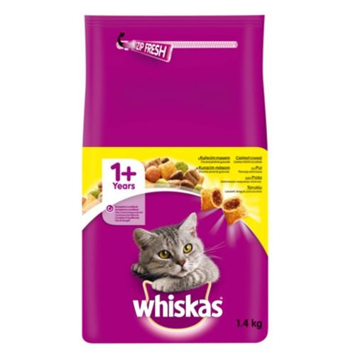 Whiskas pienso para gatos con pollo