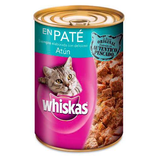 Whiskas Lata Paté de Atún