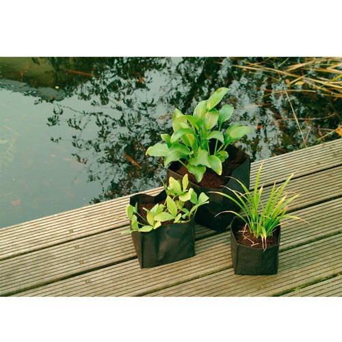 Bolsa plantación cuadrada para estanques 30x30x25 cm Ubbink