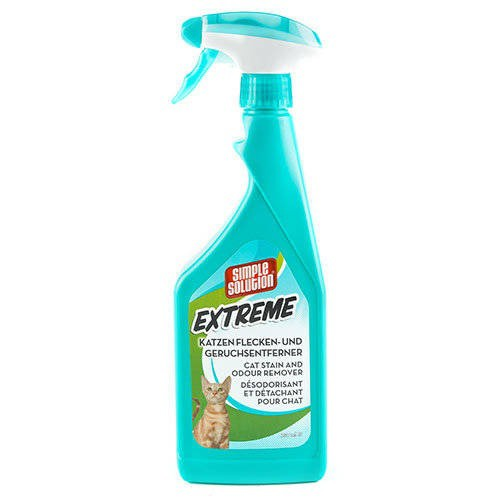 Eliminador de olores y manchas Simple Solution Extreme para gato