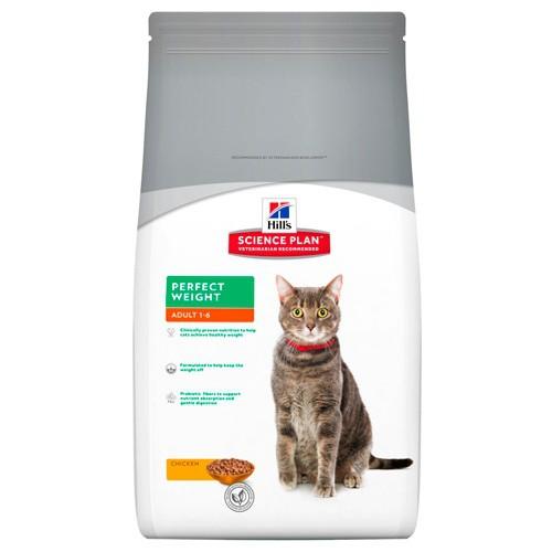 Hill's Science Plan Pienso seco gato adulto Perfect Weight pollo