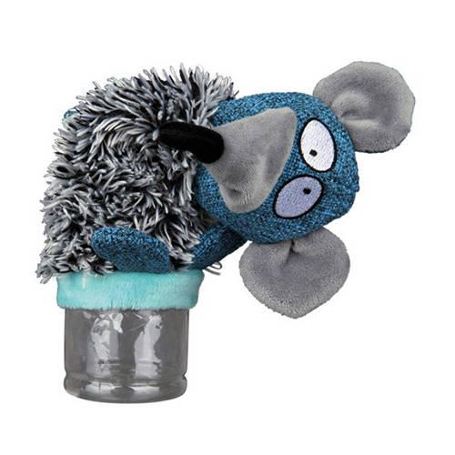 Trixie Dog Toy Rat Plush With Internal Bottle Tiendanimal