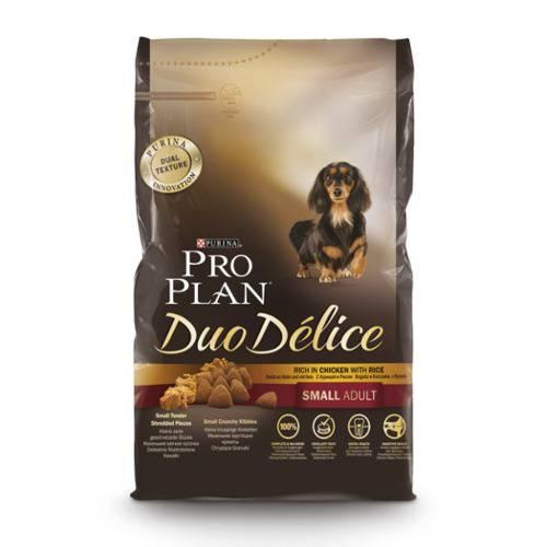 Purina Pro Plan Duo Délice Small Adult Pollo pienso para perros de razas pequeñas