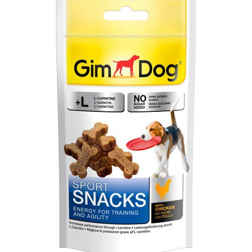 Golosinas para perros GimDog Sport Snacks huesitos de pollo