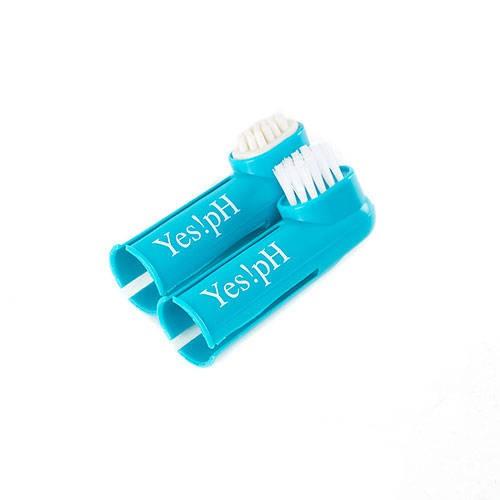 Set cepillo de dientes y masajeador dental para perros Yes!pH