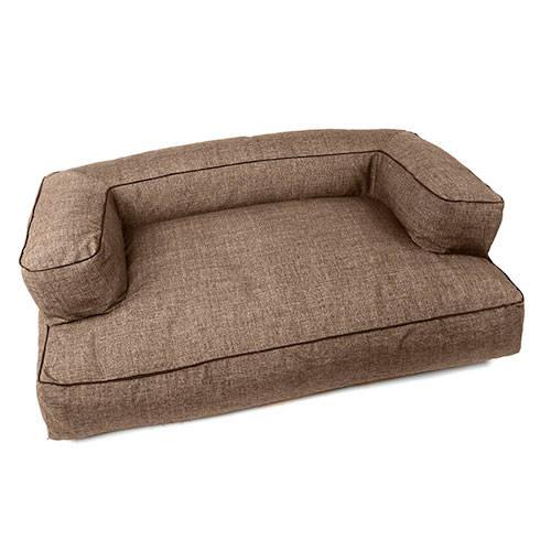 Cama para perros tk pet iris tipo sof color marr n deluxe for Cuanto sale un sofa cama