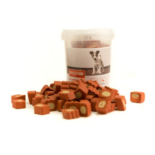 Snacks para perros Breed Up Red Cream Paws