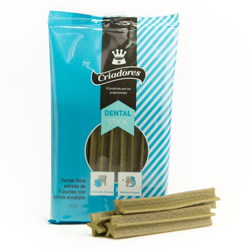 Snacks para perros Criadores Dental Stick mentolado