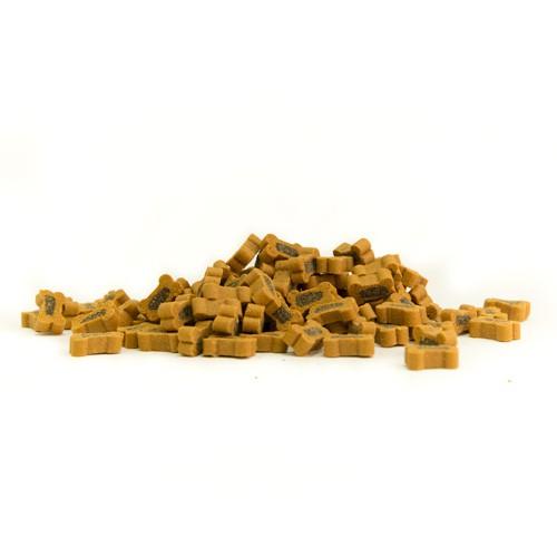 Snacks para perros Criadores Huesito Dúo con presa