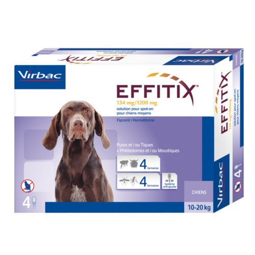 Effitix Tick&Flea Drops for dogs