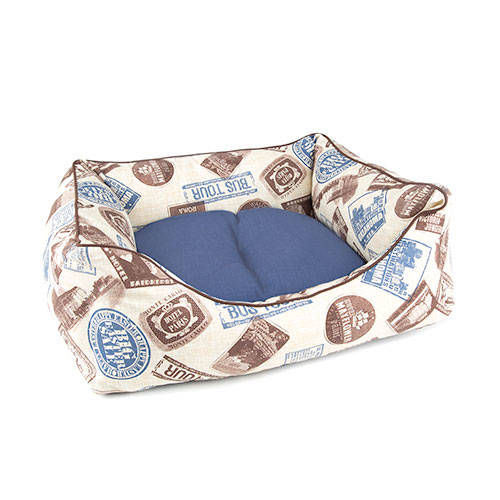 TK-Pet Tour blue cradle bed for dogs