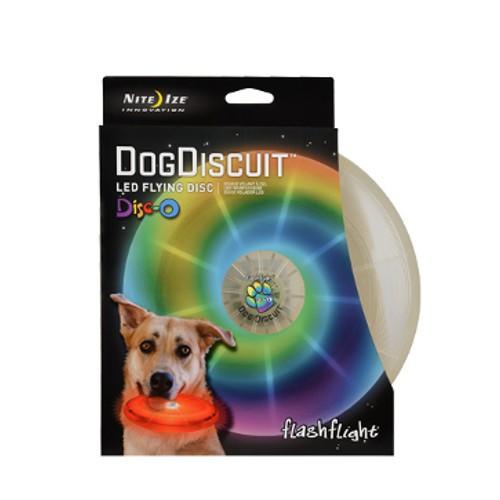 Frisbee para perros LED FlashLight