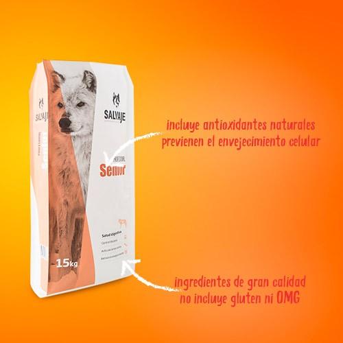 Pienso para perros Salvaje Original Senior