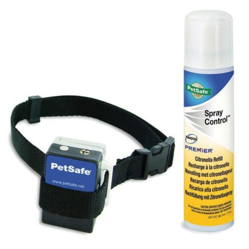 Collar antiladridos Petsafe más spray neutro de recarga