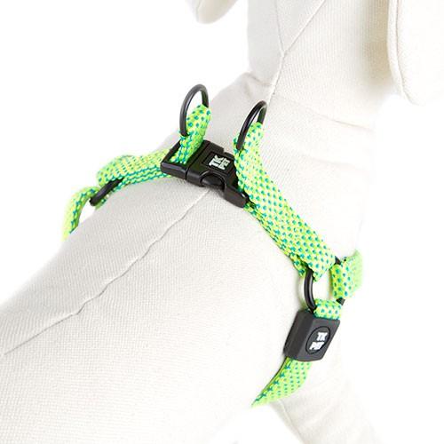 Arnés para perros TK-Pet Neo Design lima de nylon y neopreno
