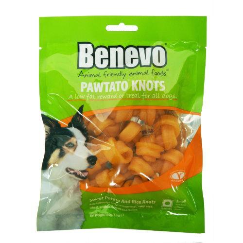 Benevo Pawtato Knots snacks veganos para perros