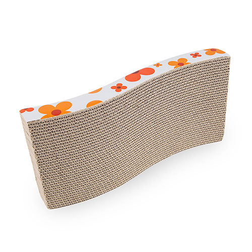 Tabla rascador para gatos TK-Pet Cat Flow naranja
