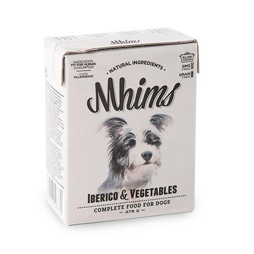 Comida húmeda para perros Mhims Iberico & Vegetables con cerdo ibérico