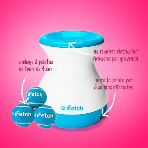 Lanzador de pelotas automático con diferentes salidas iFetch Frenzy