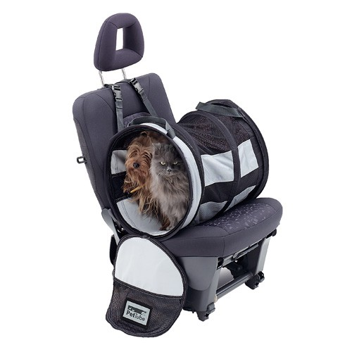 Foldable carrier for car seat Pet Tube