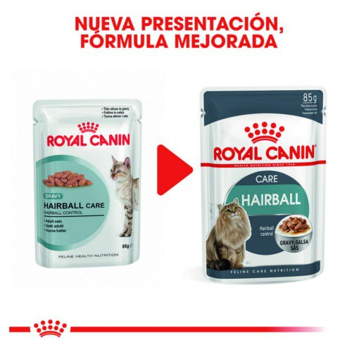 Royal Canin Hairball Care alimento húmedo para gatos