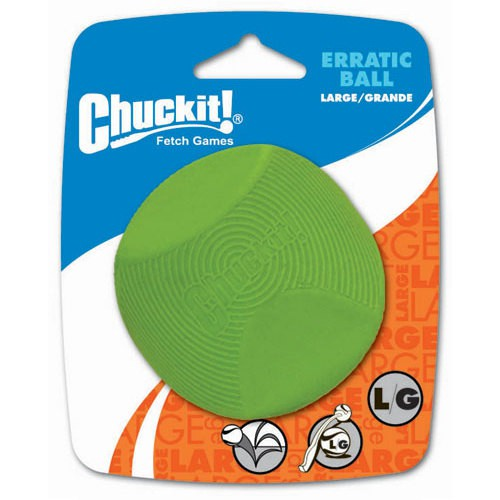 Natural rubber ball for dogs Chuckit! Erratic