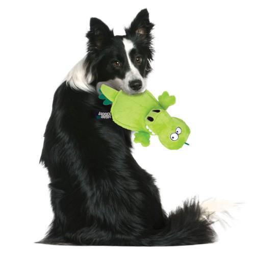 Cocodrilo de peluche para perros con ultrasonidos