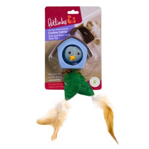 Cuco colgante con plumas para gatos Cuckoo Catnip