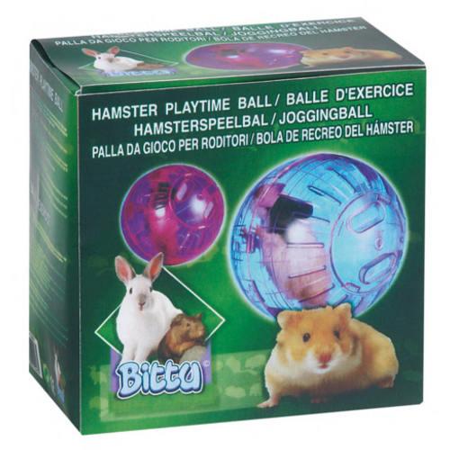 Pelota para hamster de neon