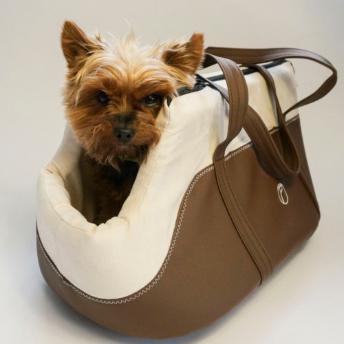 Bolso para mascotas Hollybag espresso marrón
