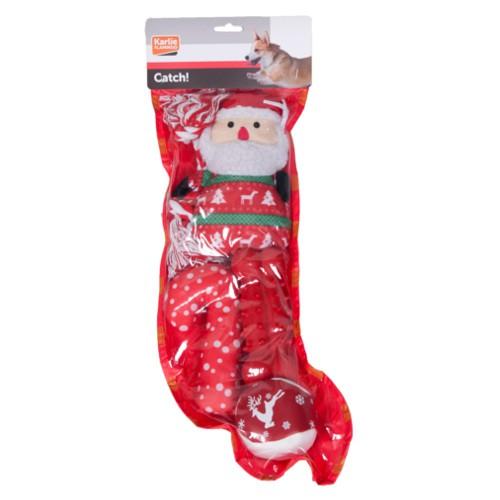 Calcet n de navidad con cinco juguetes tiendanimal - Calcetin de navidad ...