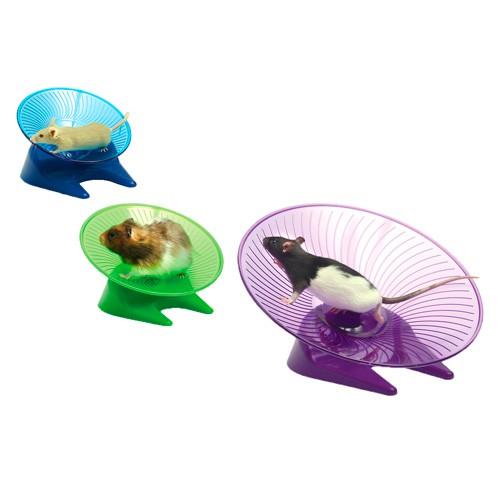 Platillo volante de ejercicio para roedores