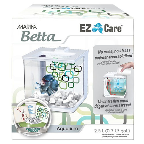 Kit bettera auto limpieza Marina Betta EZ Care blanca