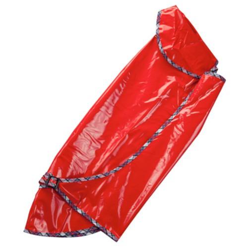 Impermeable rojo para galgos