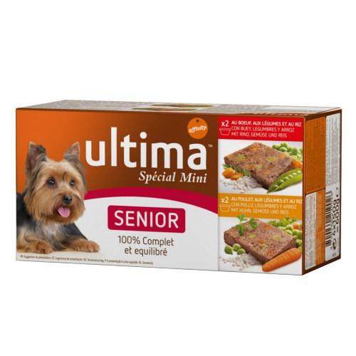affinity ultima senior sp233cial mini multipack de comida