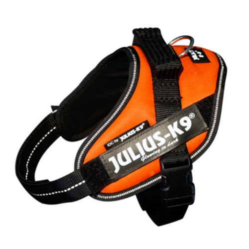 Ergonomic harness Julius K9 IDC neon orange