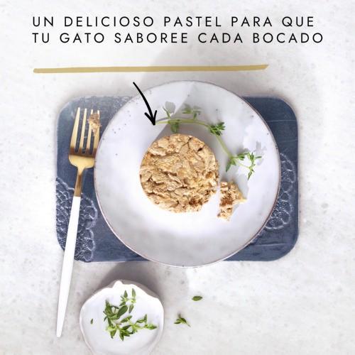 Gourmet Gold Tartelette con pollo y zanahorias para gatos