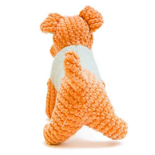 Juguete perrito naranja de peluche TK-Pet Ringo