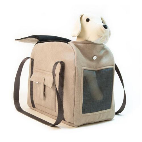 Bolso de transporte para mascotas Wondermals Louis caqui