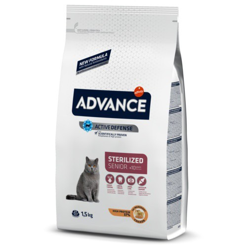 Advance Sterilized  10 años pienso para gatos