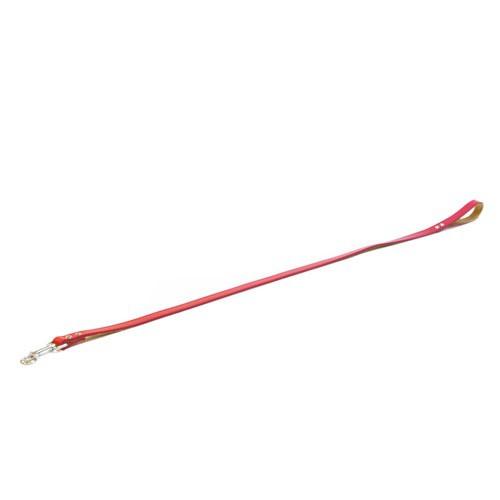 Correa de cuero TK-Pet Clásica rojo
