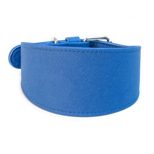 Collar sintético para galgos TK-Pet azul