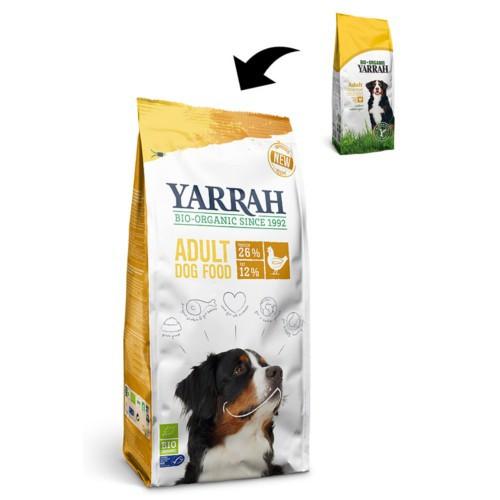 Pienso ecológico Yarrah con pollo para perros