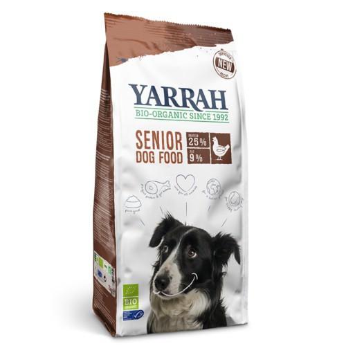 Pienso ecológico Yarrah Senior para perros