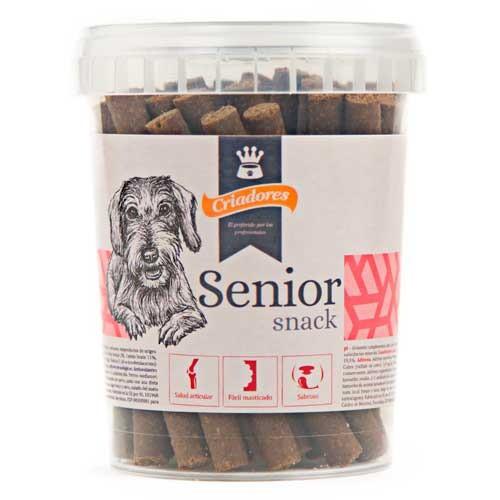 Snack Criadores Senior para perros mayores