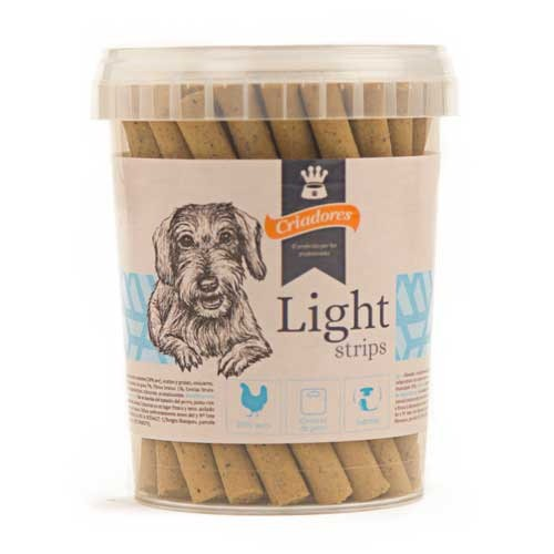 Snack Criadores Light strips para perros