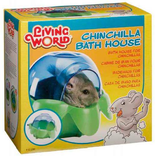 Baño para Chinchillas