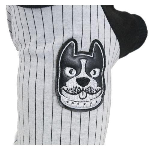 Jersey para perros Basebull gris