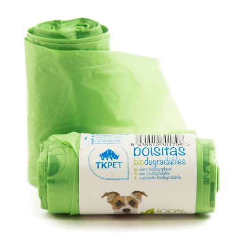 Bolsas recogecacas biodegradables TK-Pet