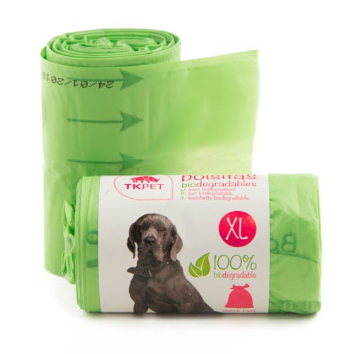 Bolsas recogecacas biodegradables XL TK-Pet